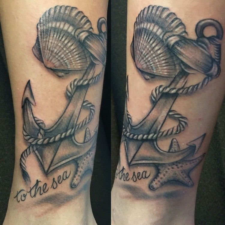 tatouage ancre marine en 15 id es inspirantes pour hommes et femmes motif noir id es. Black Bedroom Furniture Sets. Home Design Ideas