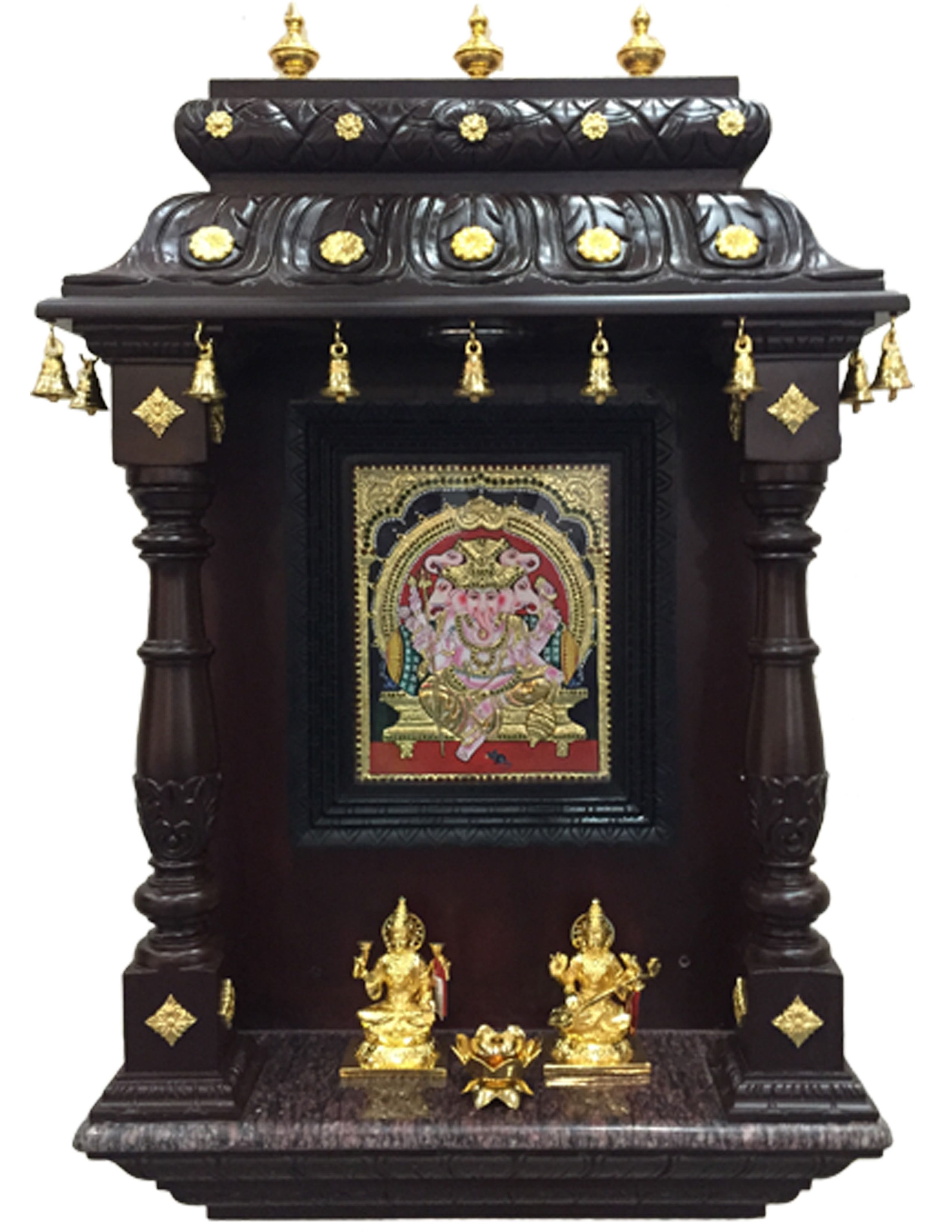 Image Result For Mantras On Pooja Room Door: Pin By Mantra Gold Coatings On Pooja Room Puja
