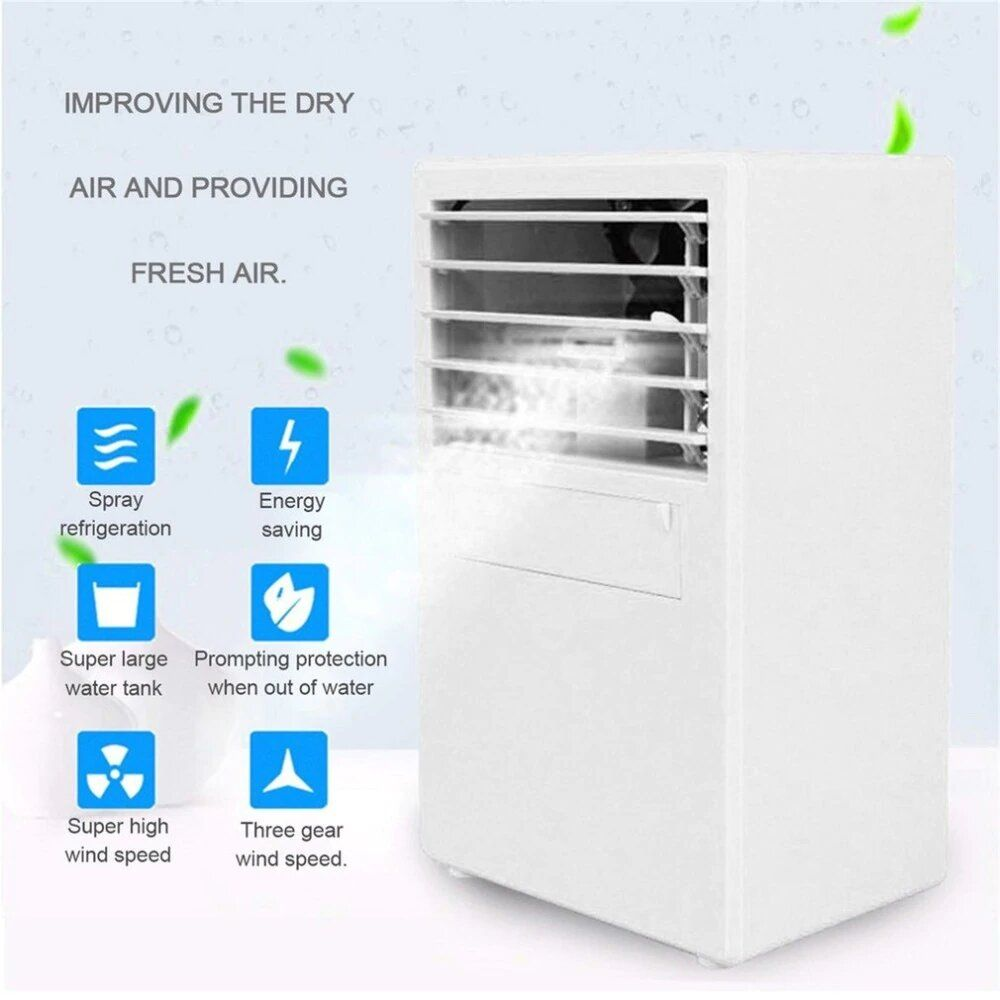 Personal Mini Air Cooler Fan Table Fan And Room Cooler Air