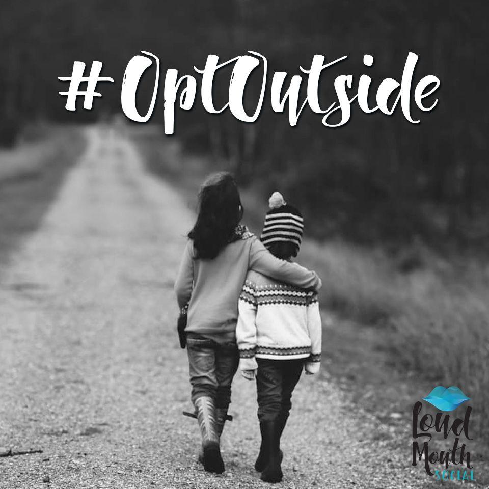 Kudos to REI - #OptOutside!