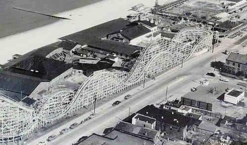 Ocean View Amusement Park in Norfolk, VA. Still the scariest roller coaster I've ever ridden!