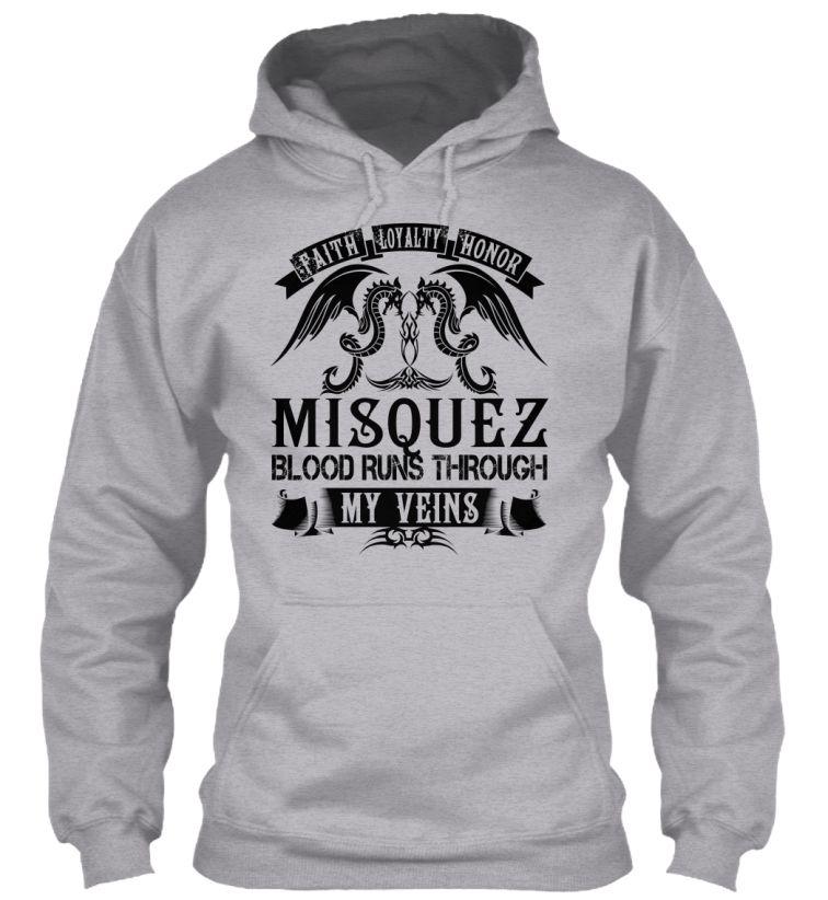 MISQUEZ - My Veins Name Shirts #Misquez