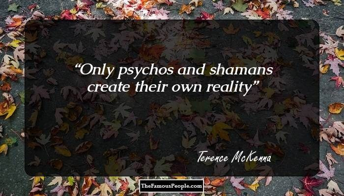 terence mckenna quotes on life - Google Search