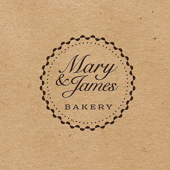 ♦ Hello and welcome to BY. ʕ•ᴥ•ʔ  A logo that features an elegant typography. This lovely & vintage logo is perfect for bakery, boutique, accessories, fashion, cafe, handmade, photography, jewelry and any retail business.