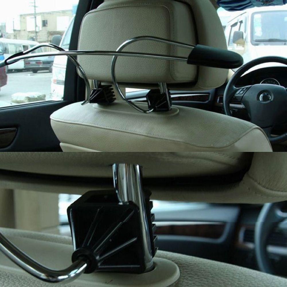 Car Truck Headrest Hanger Holder for Jacket Clothes Coat Suit Garment Purse Bags