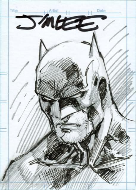 Jim Lee Batman Card Batman Comic Dibujos Comics Batman Animado