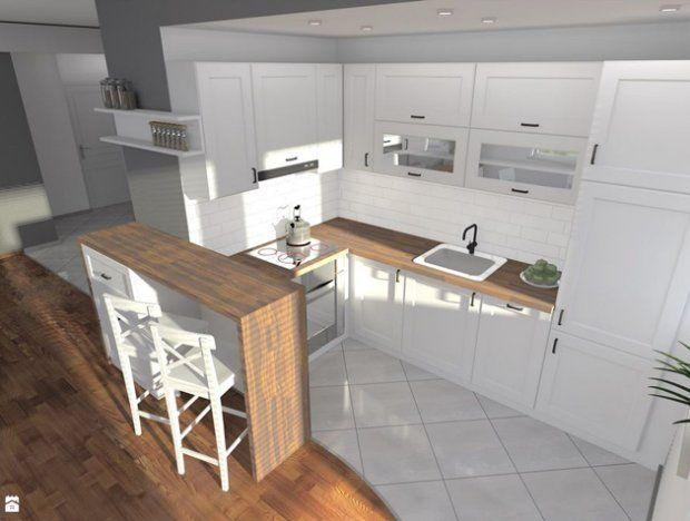 Do Urozmaicenia Wnetrz Wystarczy Naprawde Mala Wyspa Z Funkcja Barku Przy Ktorym Mozna Przysiasc Na Herb Kitchen Inspirations Home Decor Kitchen Cute Kitchen