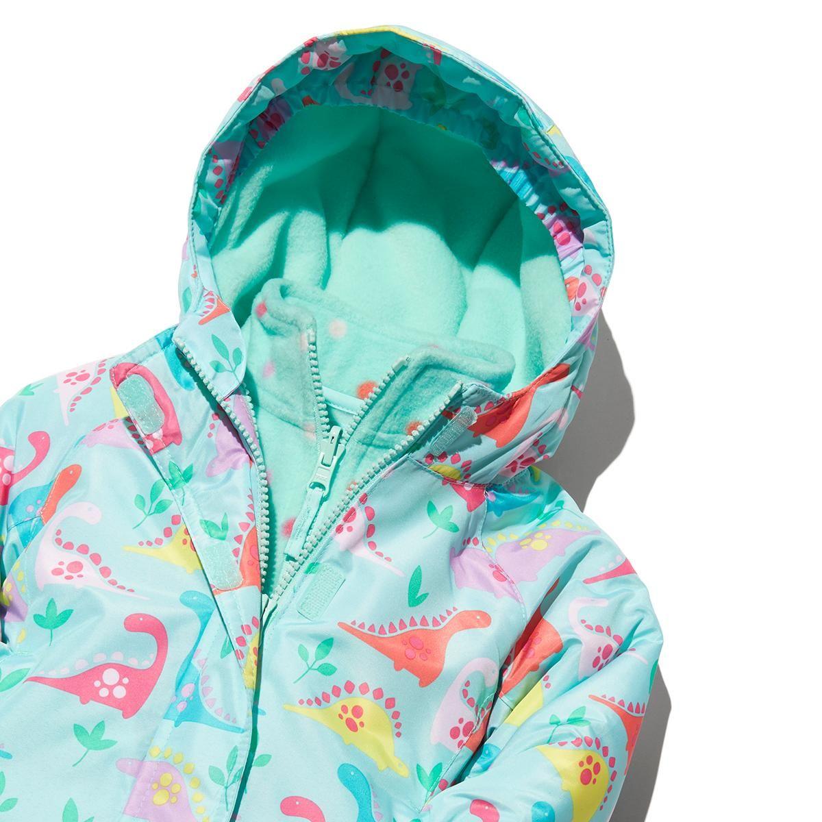 Girls 3 In 1 Dino Jacket Winter Essential Girls Jackets Kids Baby Coats Girl Fashion [ 1200 x 1200 Pixel ]