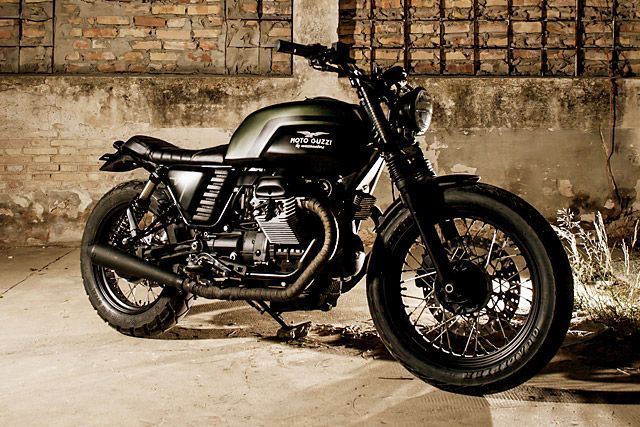 08 Moto Guzzi V7 Macco Motors Bikes