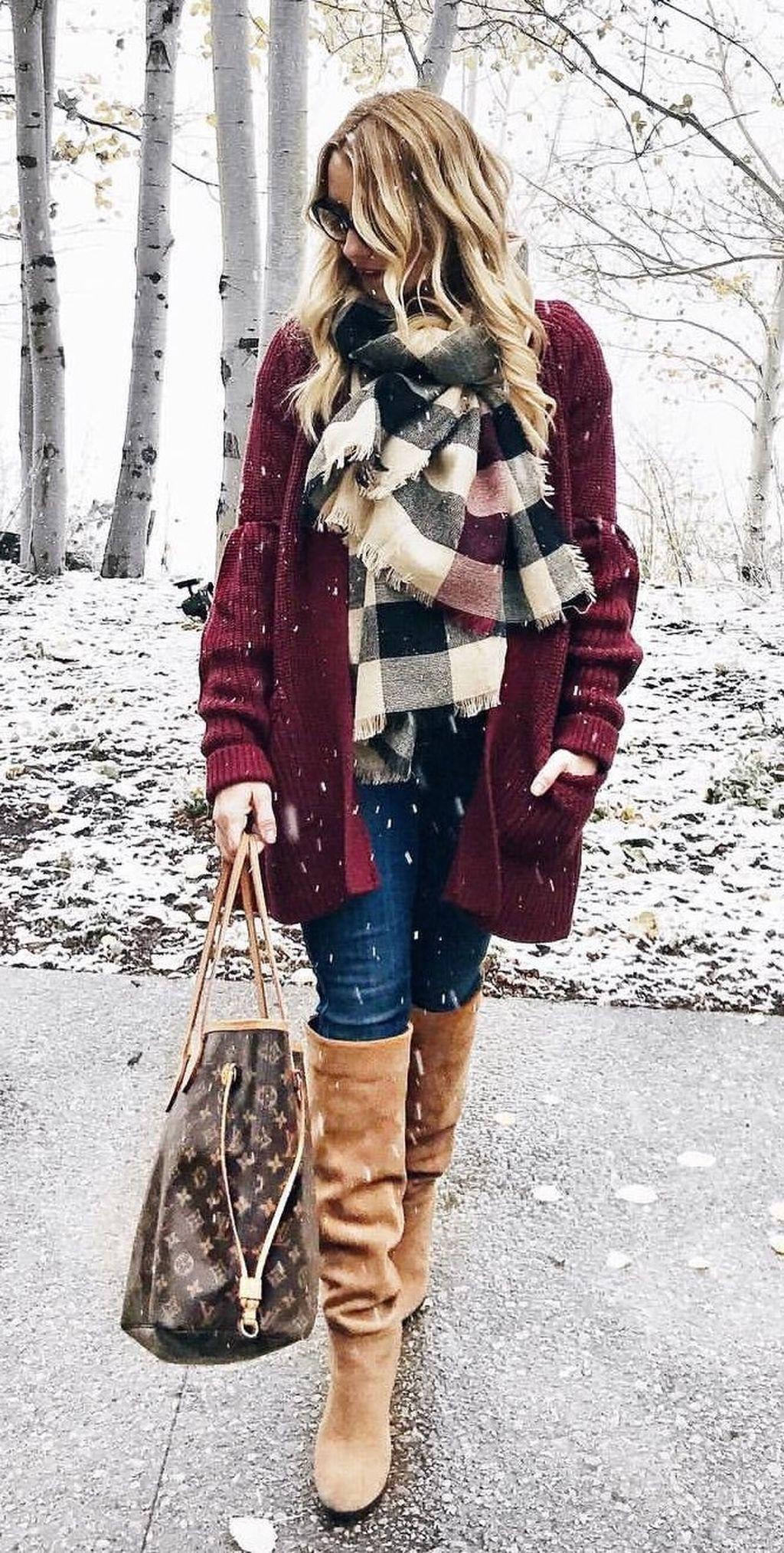 41 Cute Women Winter Outfit Ideas 2018 | Winter, Summer dresses