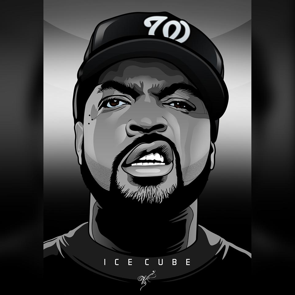 Ice Ice Cube Hip Hop Artwork Hip Hop Art Hip Hop Artists