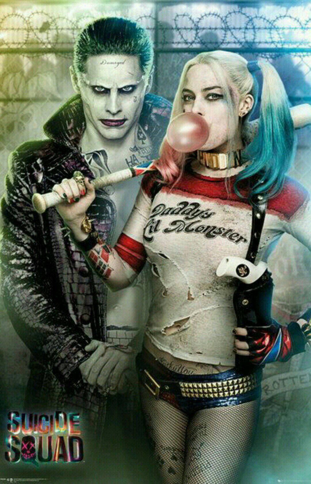 Harley Quinn Et Le Joker : harley, quinn, joker, Arlequina, Coringa
