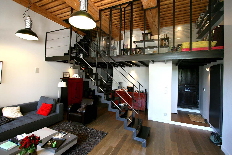 Une mezzanine dans votre maison Mezzanine, Industrial