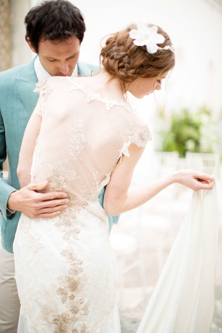 Nice wedding dresses  Trending Sexy Sheer Wedding Dresses that Will Have You Feeling