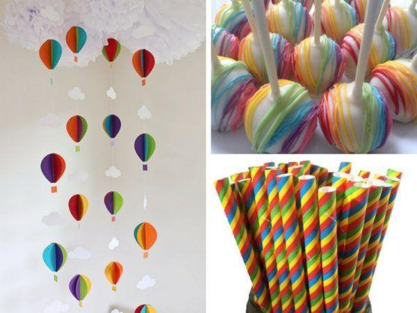 Cheap Party Supplies Uk Hot Air Balloon Baby Shower Hot Air Balloon Party Balloon Theme Baby Shower