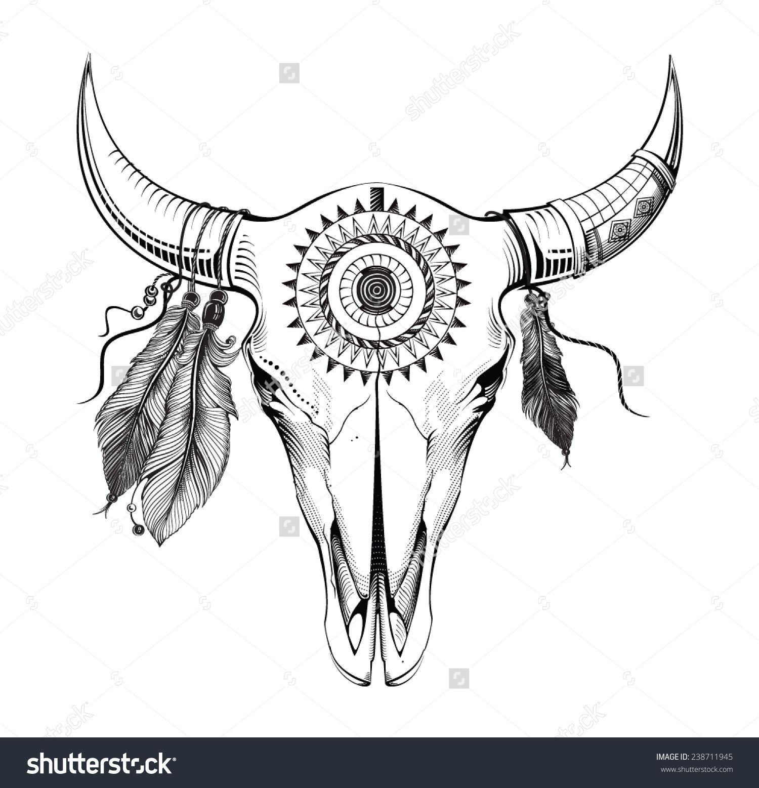 Decorated Cow Heads Google Search Coloring Pages Bull