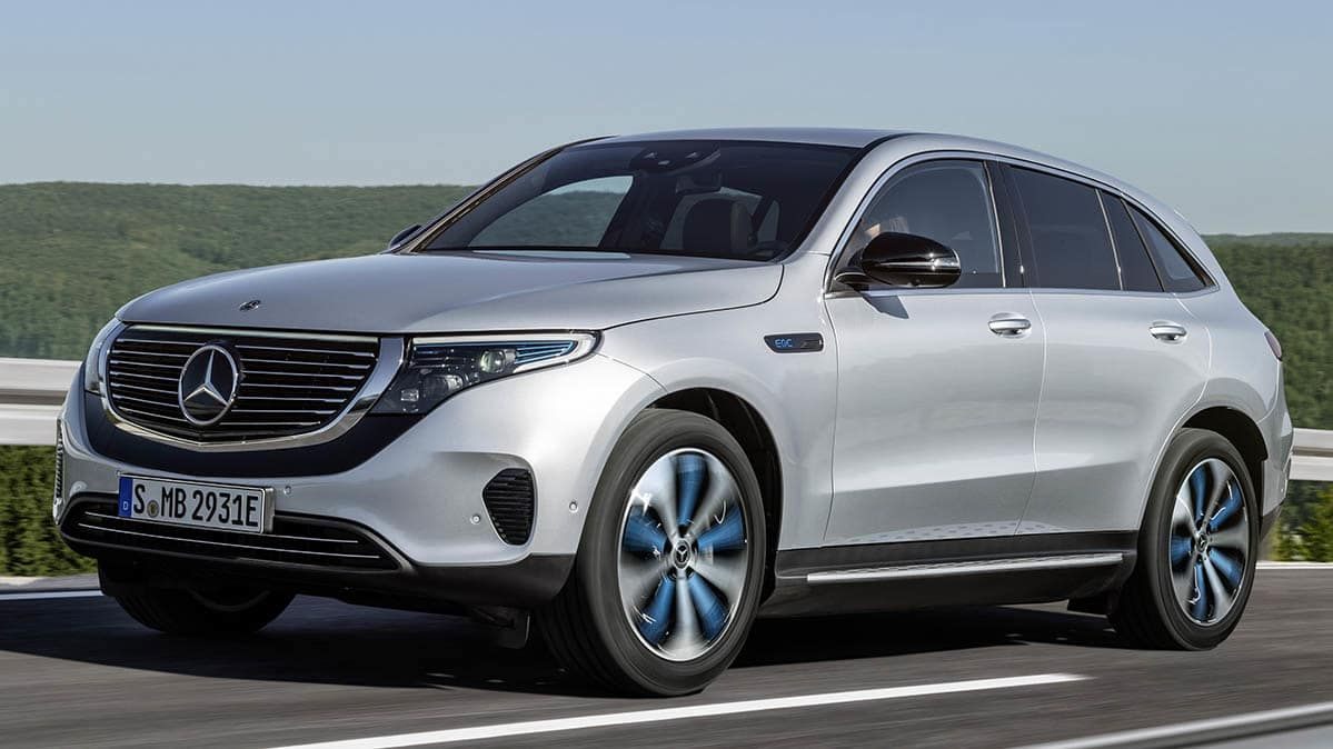2020 Mercedes Benz Eqc Is Another All Electric Tesla Challenger With Images Mercedes Benz Benz Mercedes
