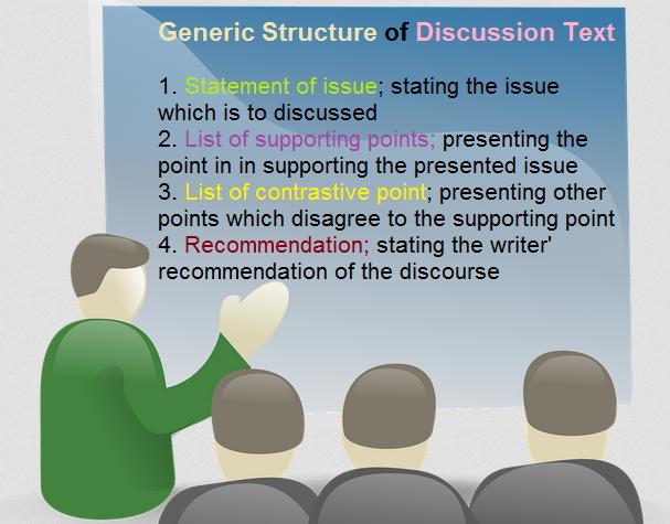 9 Contoh Discussion Text Terbaik Berbagai Topik Learning English