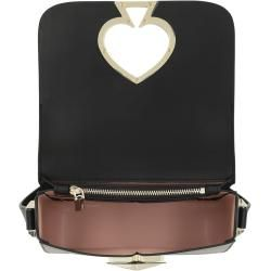 Photo of Kate Spade New York Nicola Twistlock Small Flap Shoulder Bag Black in schwarz Umhängetasche für Dame