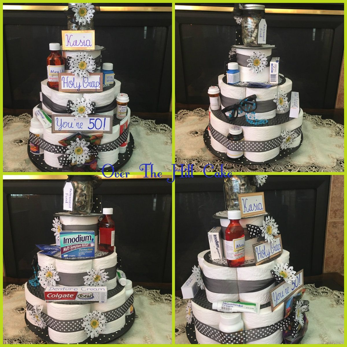 funny birthday cake toilet paper the hill cake for 50th bday creative 4421