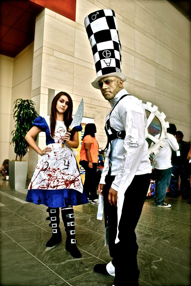 Me As Alice And My Friend As My Hatter Premiered Az Raleigh Nc