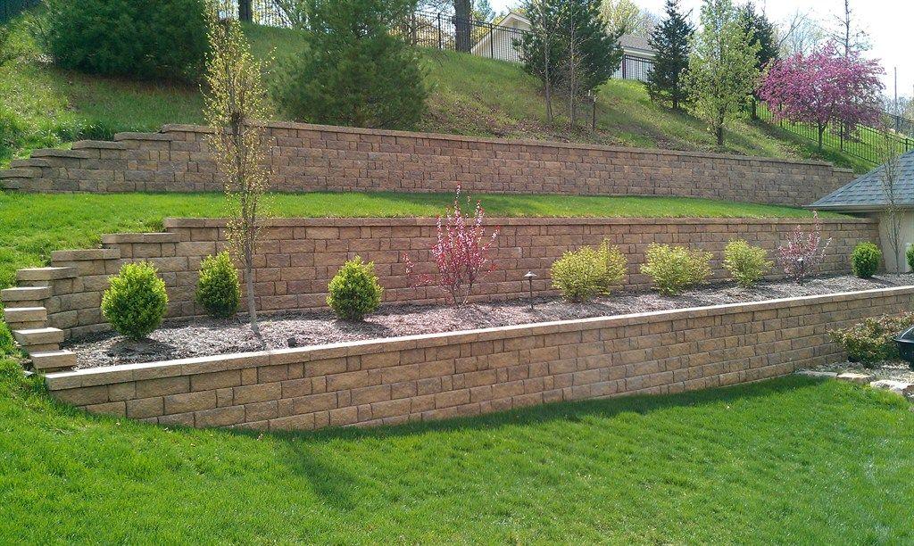 terracing a hillside - Google Search | Sloped garden ...