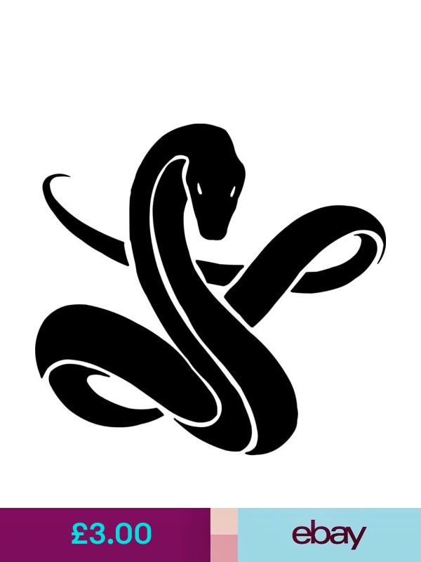 Snake Head vinyl sticker decal U Choose Color /& Size