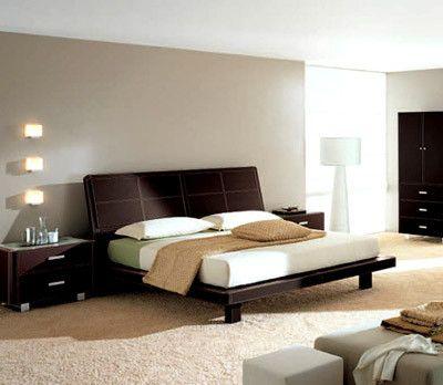 Camas modernas matrimoniales buscar con google - Dormitorios principales modernos ...