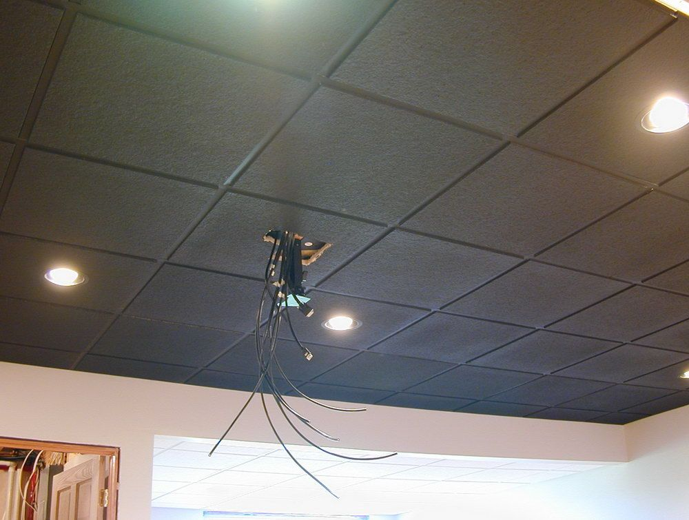 Spray Paint Drop Ceiling Tiles Home Drop Ceiling Tiles Dropped Ceiling Drop Ceiling Tiles Painted