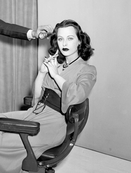 Hedy Lamarr - In The One And Three Color Studio (1940's)