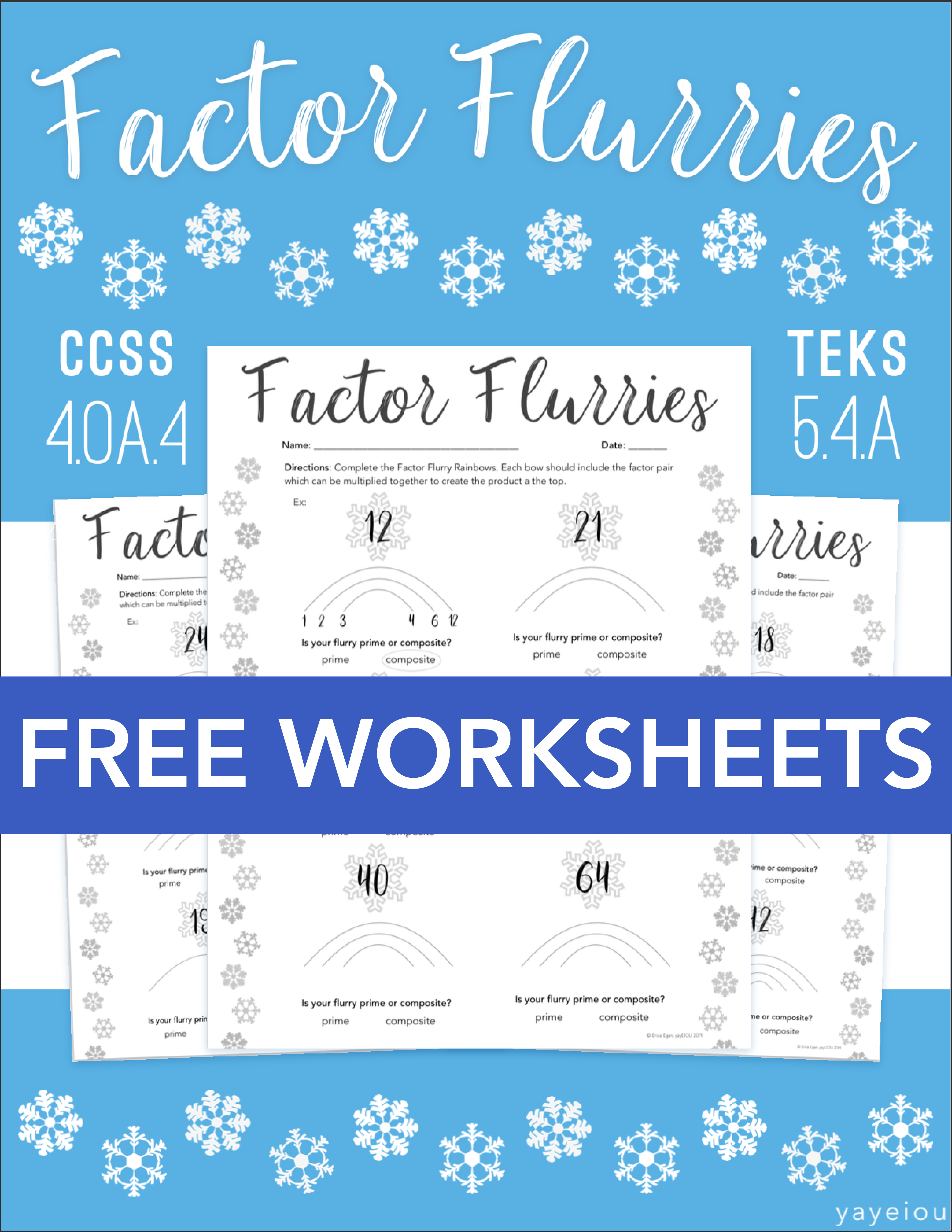 Free 4 Oa 4 Worksheets In