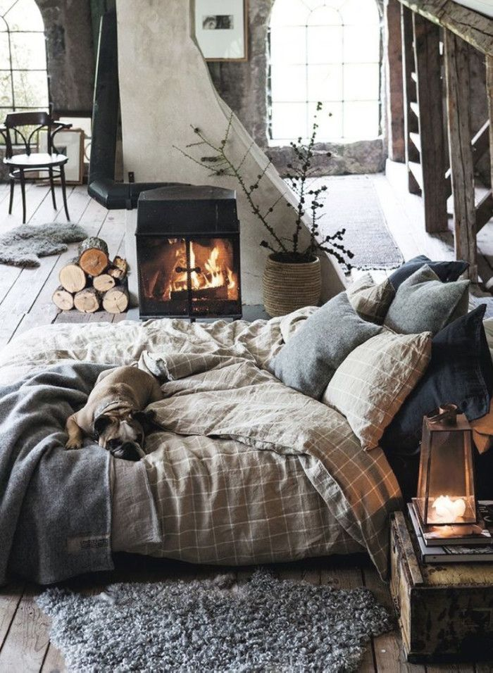 Scandinavian interior design, cottage