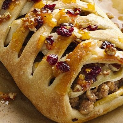 Sausage Apple and Brie Stromboli Recipe - Key Ingredient