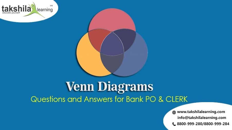 Venn Diagrams Questions And Answers For Bank Po Clerk 2018 19 In