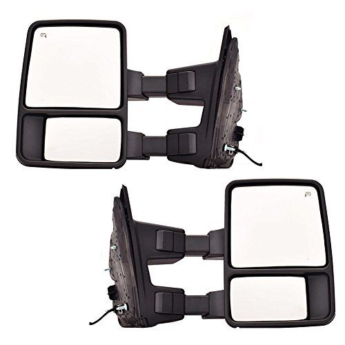 Dedc Ford F250 Tow Mirrors Fit For 99 15 Ford F250 F350 F450 Super Duty Towing Mirrors Manual Telescopic With Signal Lights Indicator Car Accessories Online M Towing Mirrors Ford F250