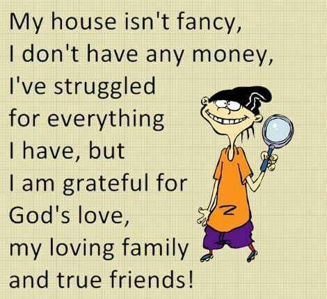My house isn't fancy.......