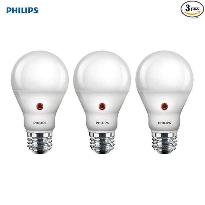 Philips Led Dusk To Dawn A19 Frosted Light Bulb 800 Lumen