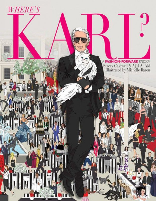 #PrêtàLiker : Where's Karl? The Where's Waldo for fashionphiles