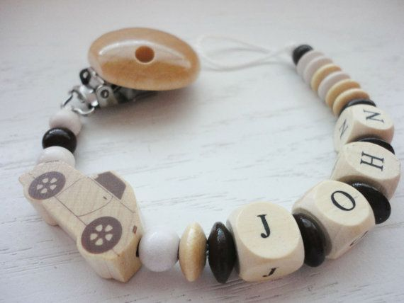 Hey, I found this really awesome Etsy listing at https://www.etsy.com/listing/207665184/personalized-pacifier-clip-natural-and