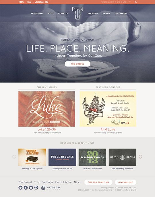 Best Church Websites Terra Nova | Marian Website ideas | Pinterest ...