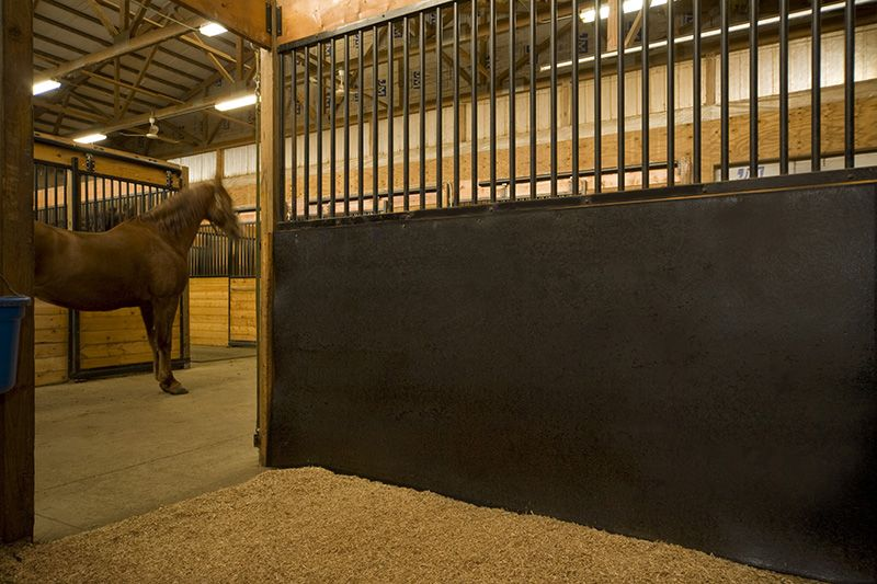 Horse Wall Guard Interlocking Rubber Mats Stables Horses