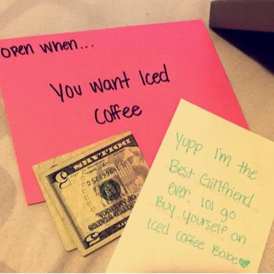 open when letter ideas | Tumblr | Boyfriend gifts | Diy