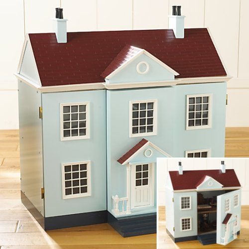 The Bombay Company Store Dollhouse Set FURNITURE INCLUDED   Stylehive