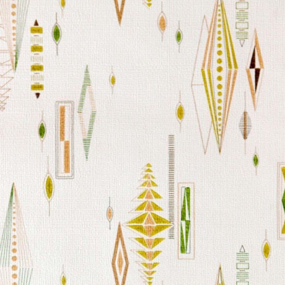 Atomic 1950s 60s Mid Century Designed Fabulous Wallpaper Mid Century Wallpaper Vintage Wallpaper Patterns Retro Tapet