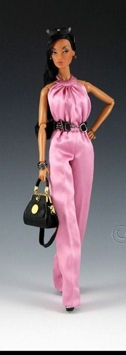 FAshion Doll in pink