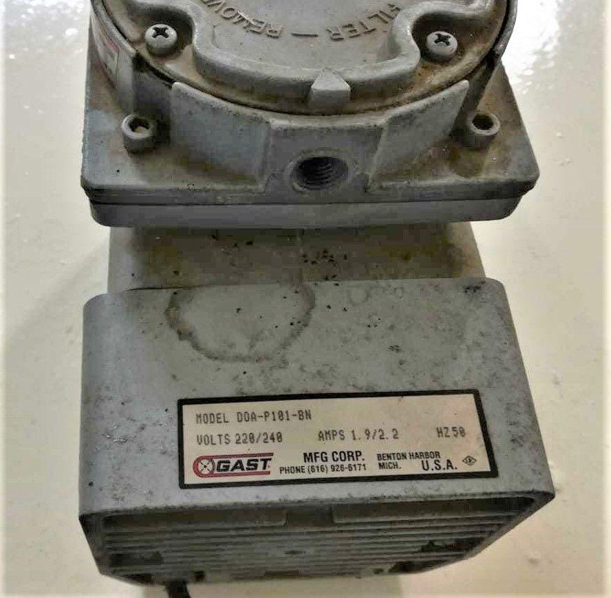 Gast Pump Doa P101 Bn Repair Vacuum Pump Pumps