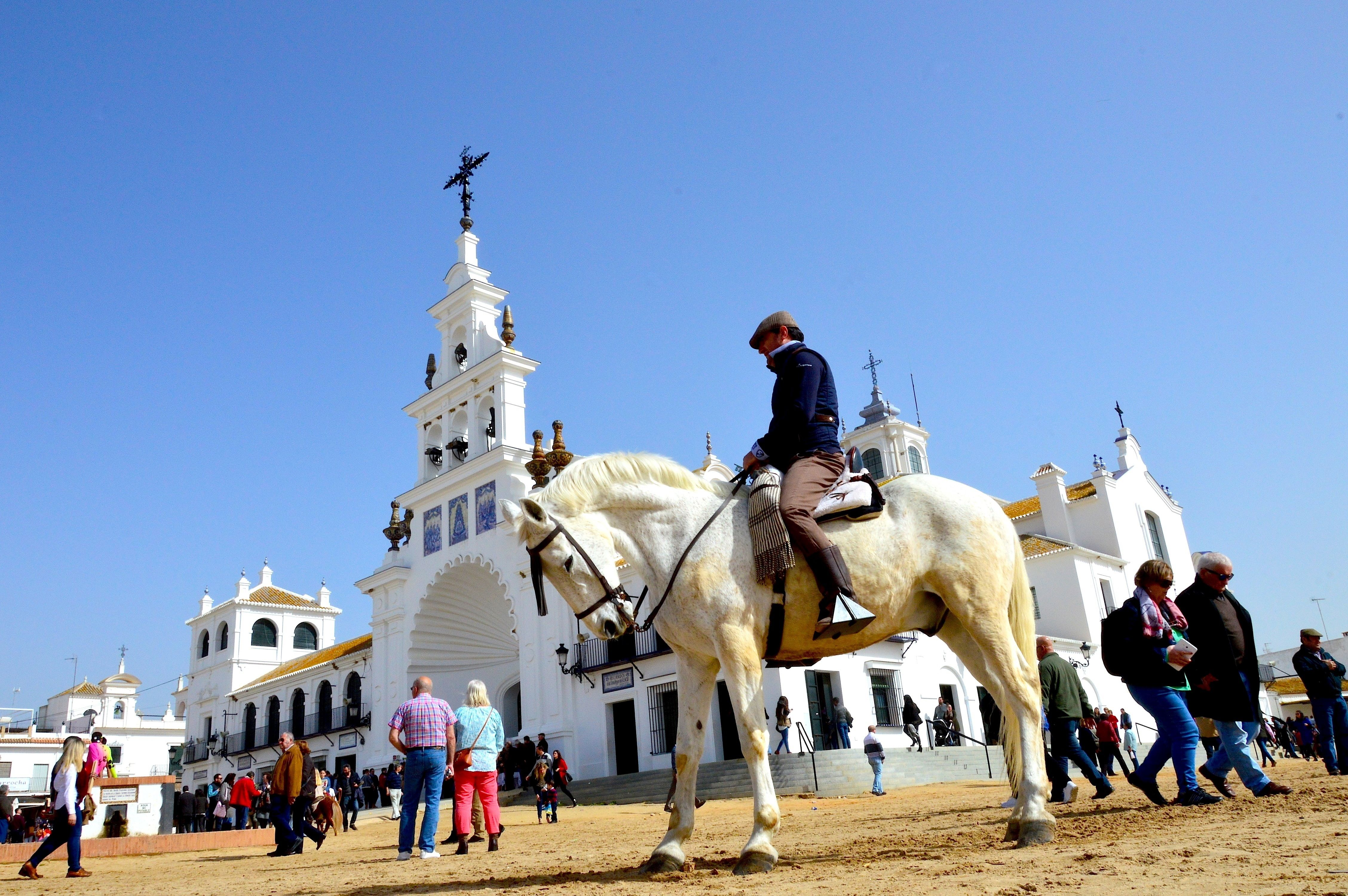 Lasse Persson - El Rocio in Andalucia, Spain, is a small village with wide, sandy streets, horse riding farmers and a frontier like feeling.