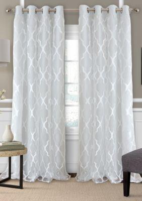 Bethany Single Window Panel In 2020 Window Panels Sheer