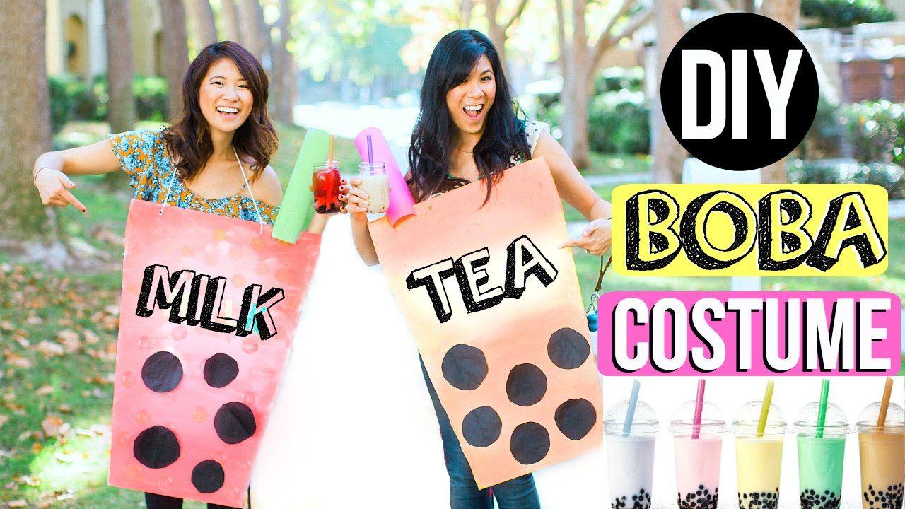 Diy boba milk tea costume boba milk tea costumes
