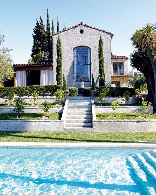 House Tour La Estrella De Grey S Anatomy Ellen Pompeo Casa De Famosos Casa De Verano Casas Tradicionales